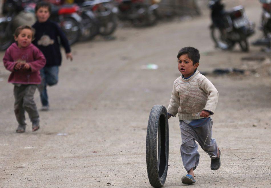 Unicef:  2016 foi o ano mais fatal para crianças sírias