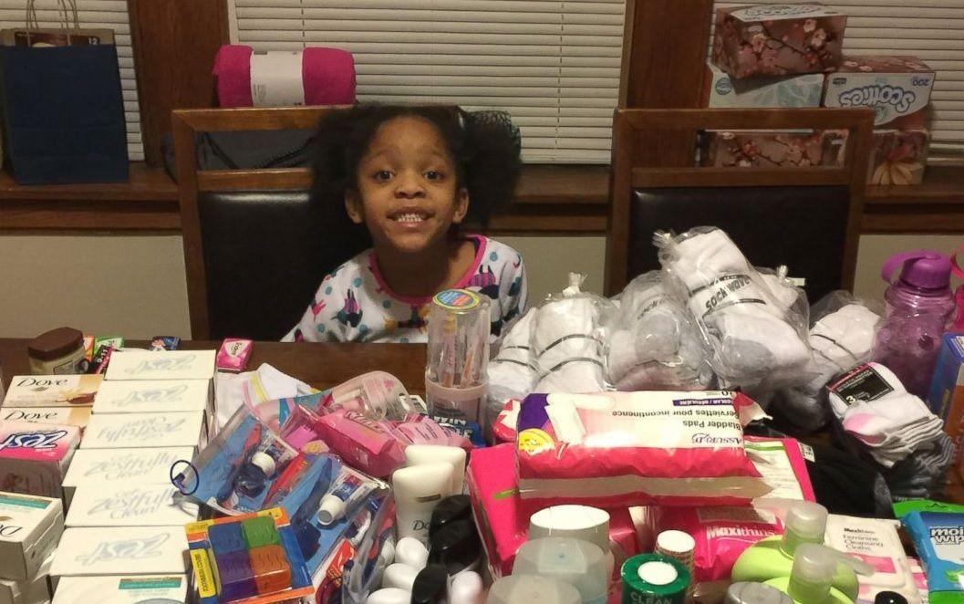 Garota troca festa de aniversário por ato de caridade