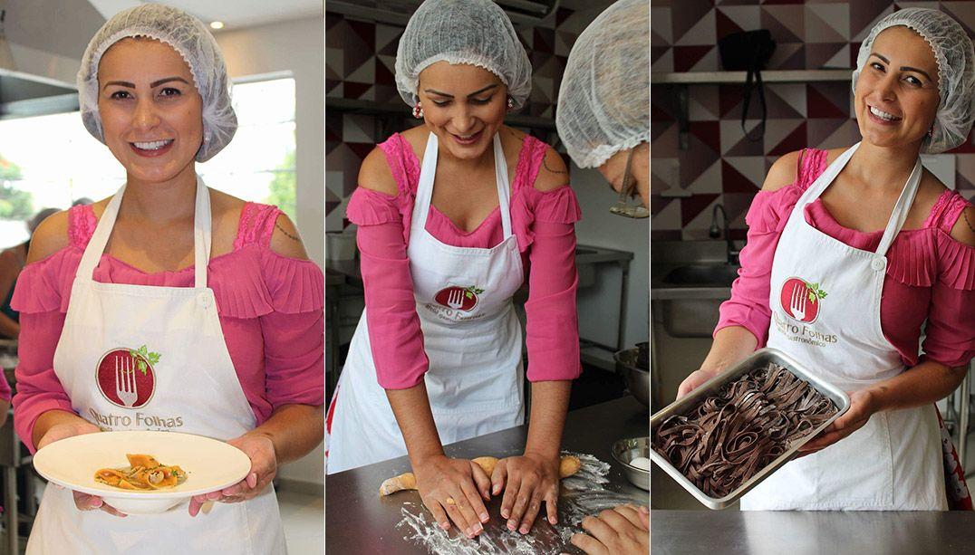 Após se casar com o ex, Andressa Urach decide virar chef de cozinha