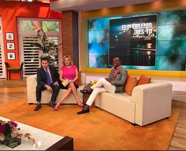 Alexandre Pires participa de programa televisivo nos EUA