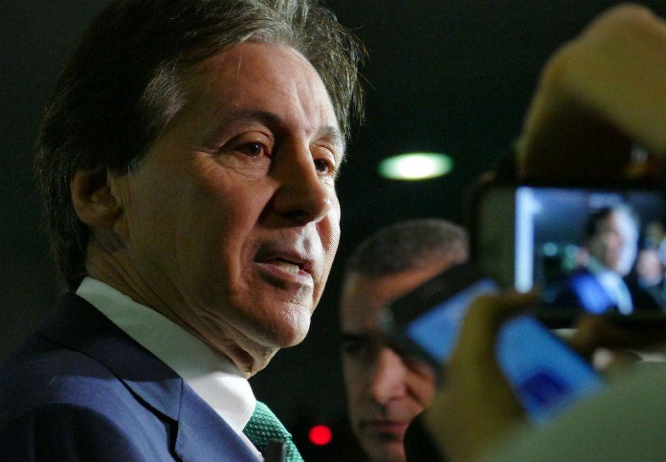 Lista de Janot não interfere nos trabalhos do Senado, diz Eunício