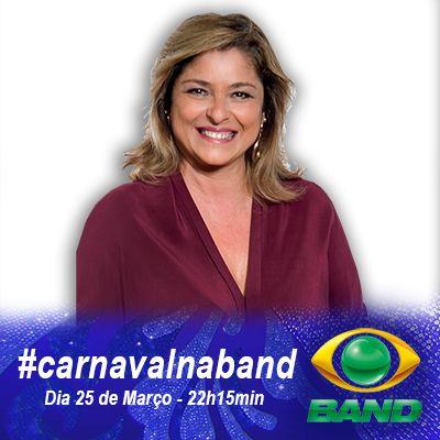 Coloque o #CarnavalNaBand em seu avatar nas mídias sociais