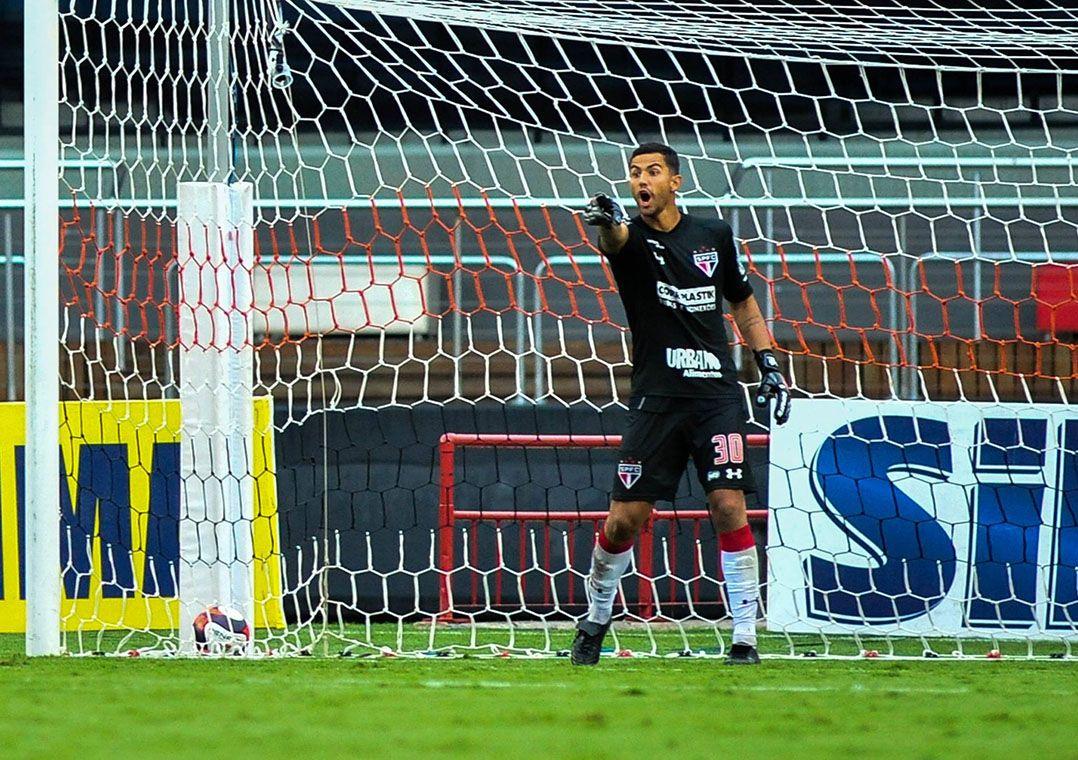 Renan Ribeiro se destacou no empate contra o Ituano e deve seguir no time titular /  Maurício Rummens/Fotoarena/Estadão Conteúdo