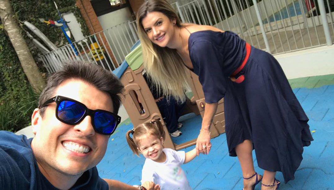 Ceará ensina a filha imitar Silvio Santos; confira 9 momentos fofos