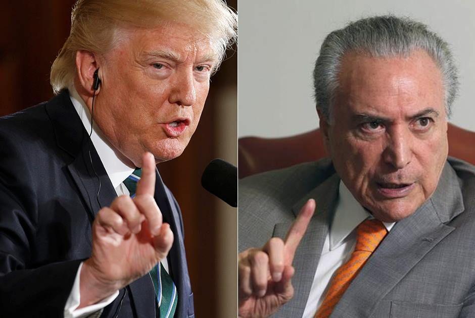 Por telefone, Trump diz querer visita de Temer na Casa Branca