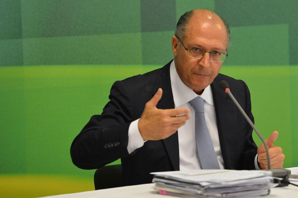 Alckmin reage por candidatura em 2018