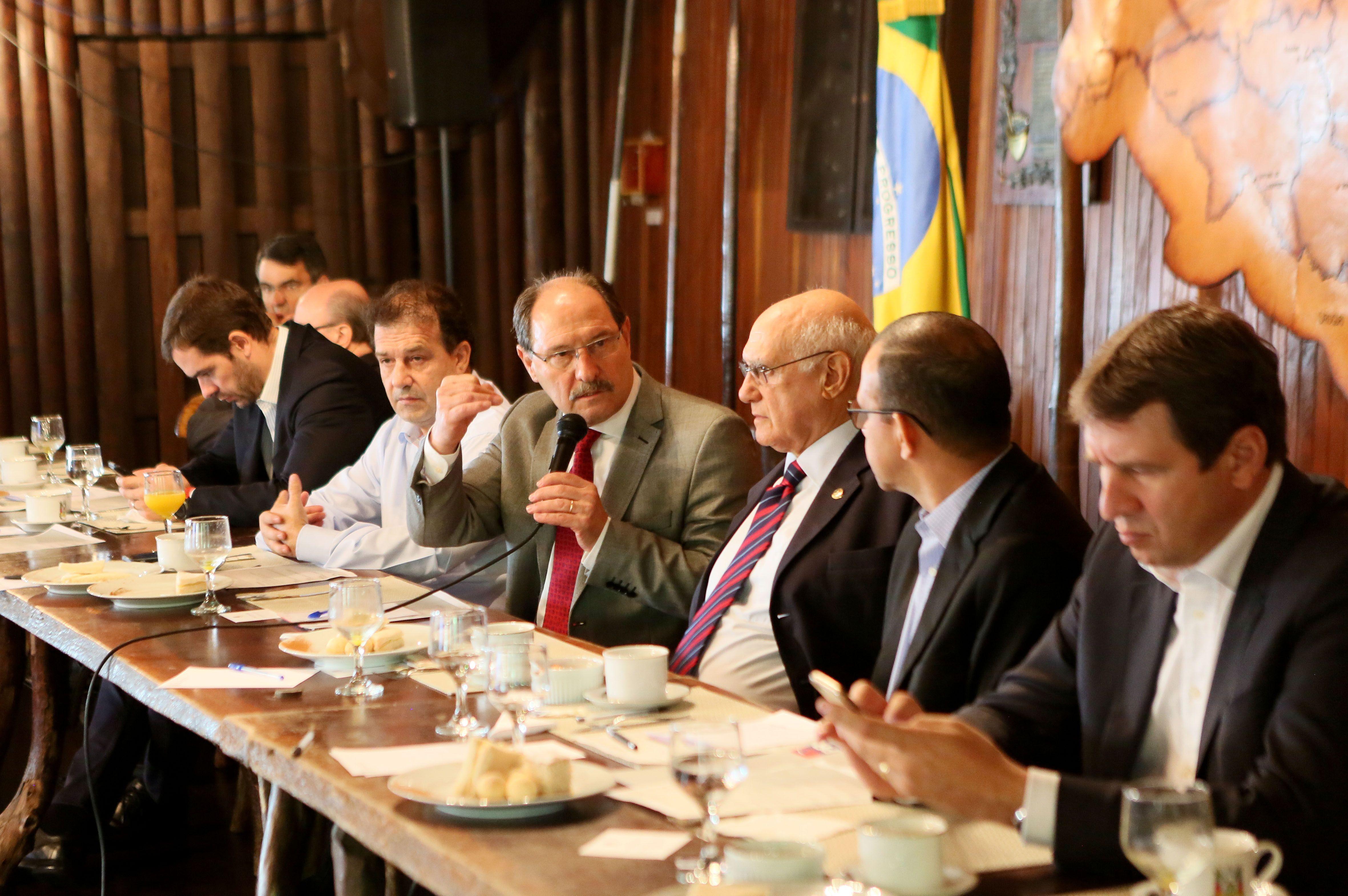 José Ivo Sartori se reuniu com a bancada gaúcha / Luiz Chaves/Palácio Piratini