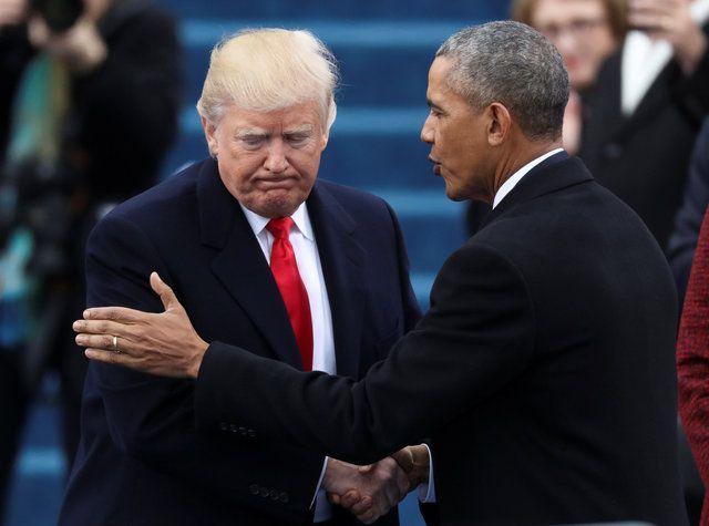 Atual presidente norte-americano fez tuíte em que acusava Obama de interceptação telefônica / Carlos Barria/Reuters