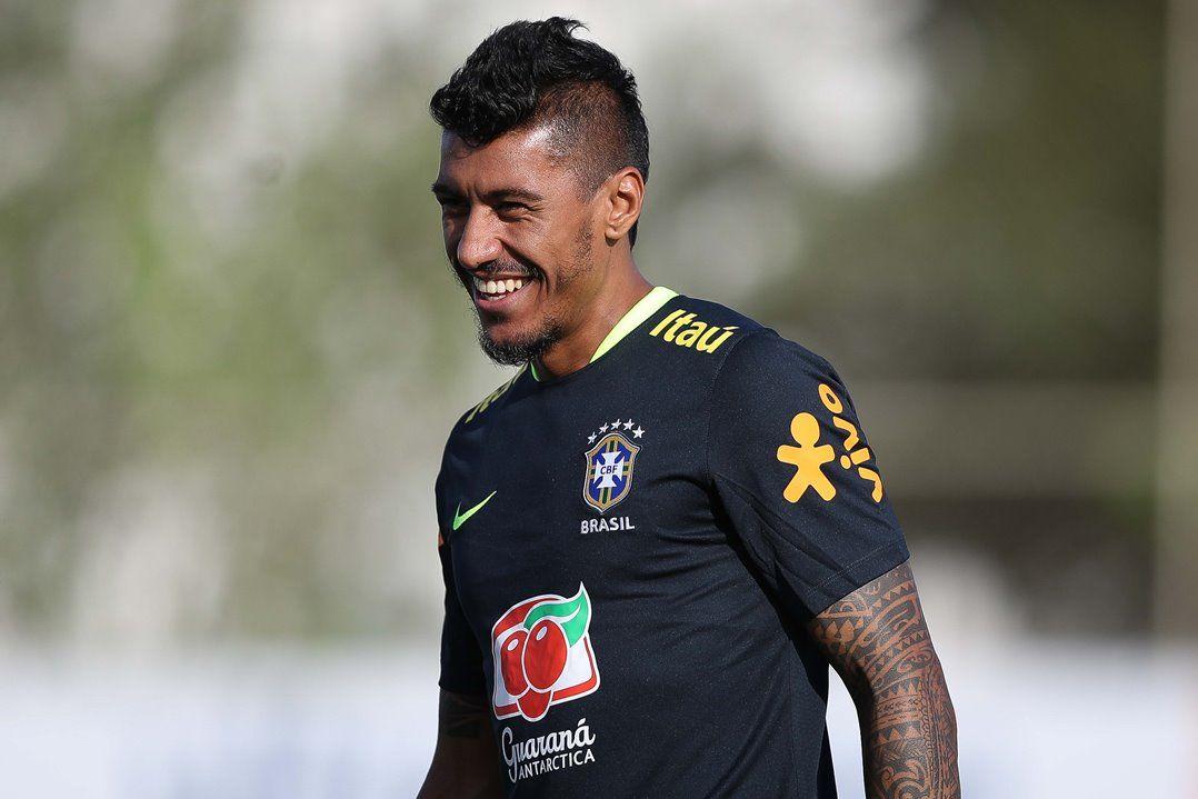 Ídolo do Corinthians, Paulinho voltou ao CT do clube para treinar com a Seleção / Pedro Martins/MoWA Press