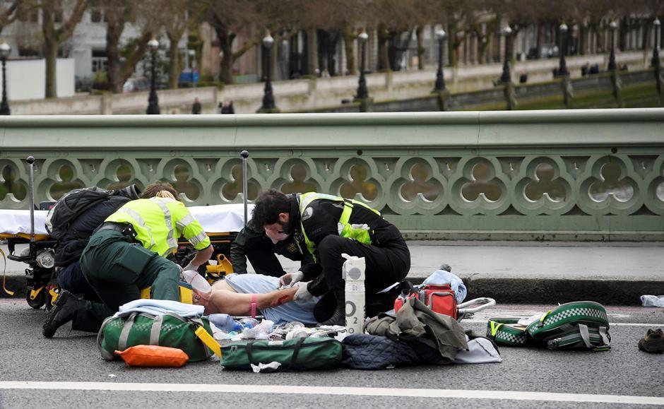 Autor de ataque em Londres seria homem de meia idade