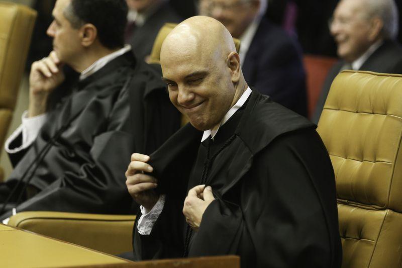 Alexandre de Moraes é empossado na vaga de Zavascki no STF