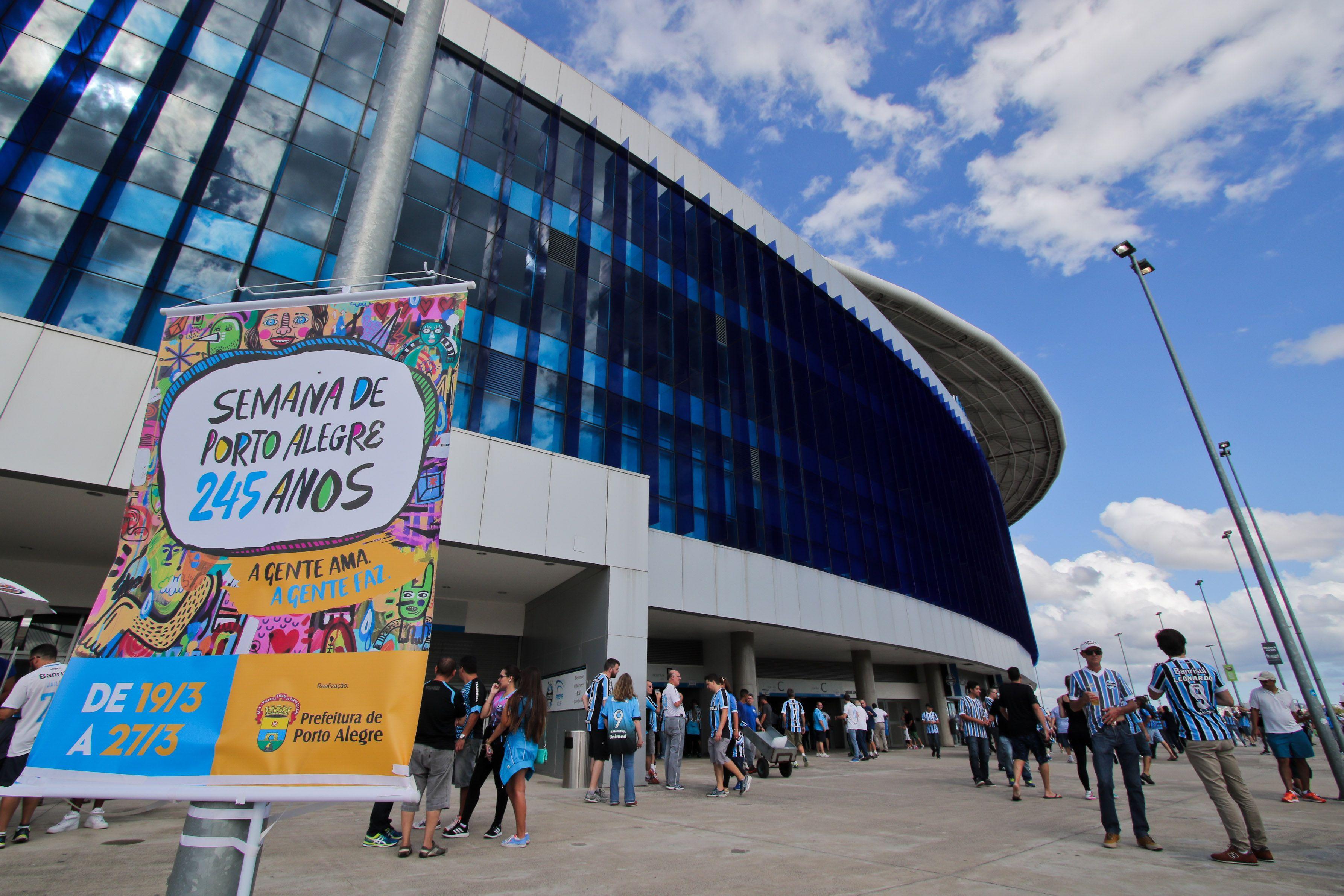 Copa dos Refugiados acontece nesse domingo na Arena do Grêmio