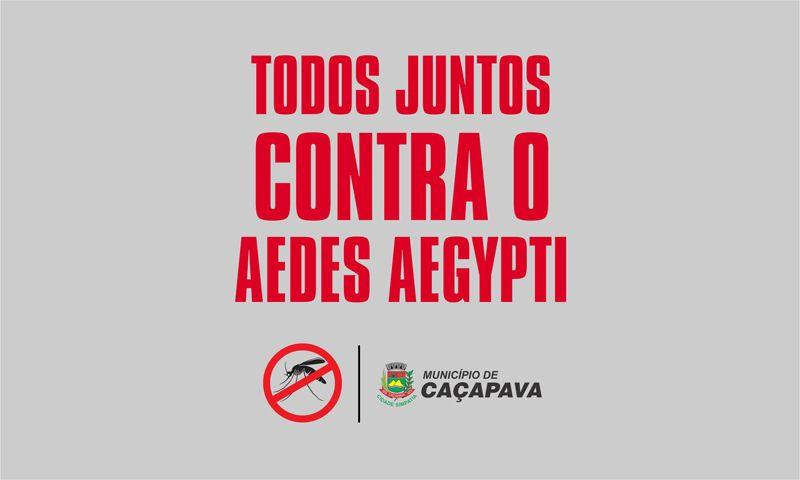 Prefeitura de Caçapava promove ação de combate à dengue