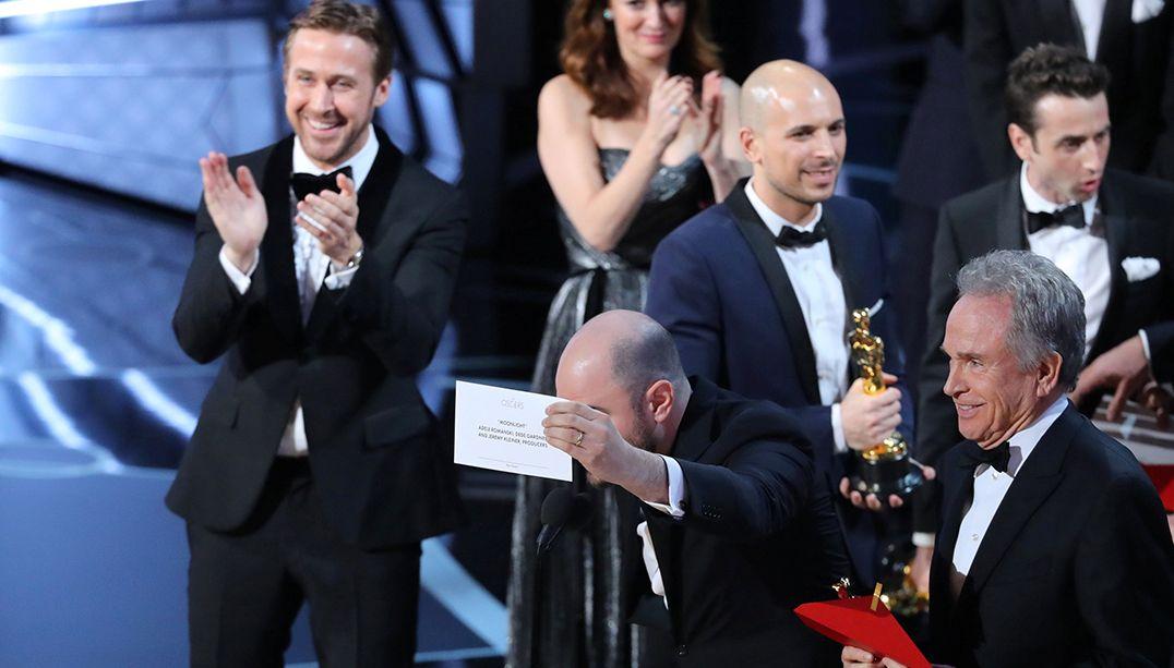 Ryan Gosling revela que riso foi de alívio no Oscar