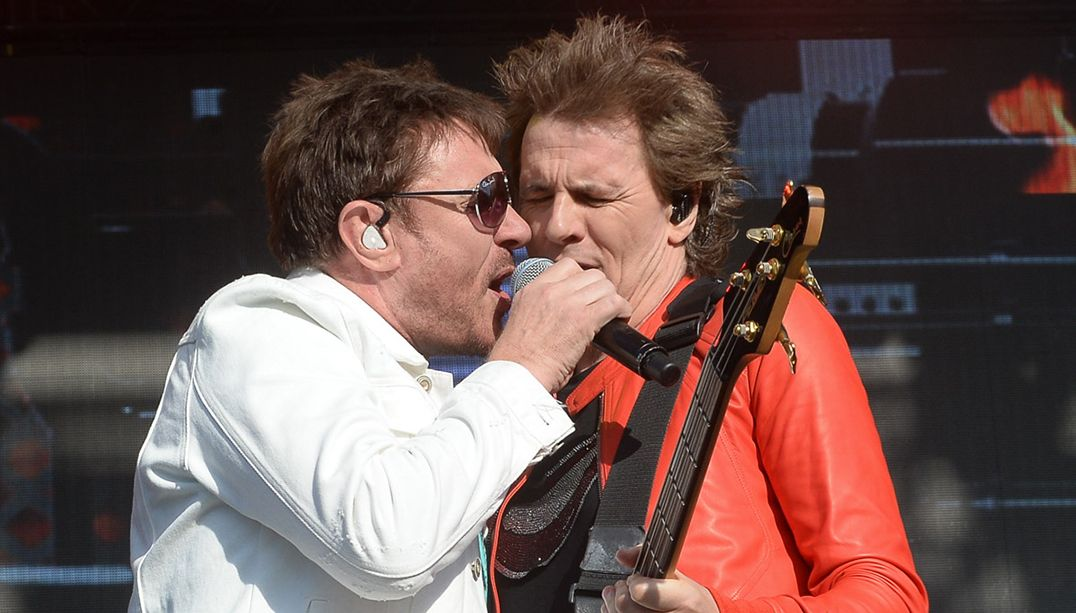 Duran Duran canta com Céu e relembra hits saudosistas dos anos 1980