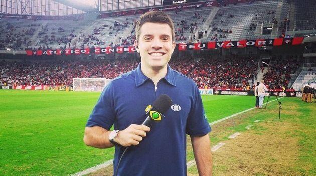Lucas Cappatto integra o jornalismo esportivo da Band / Divulgação instagram
