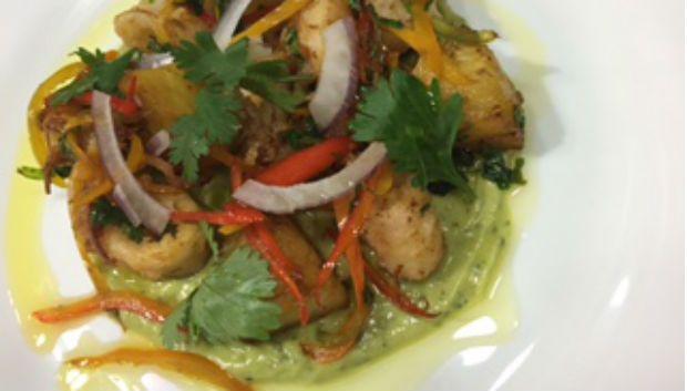 Jacquin cria lula com guacamole para restaurante mexicano