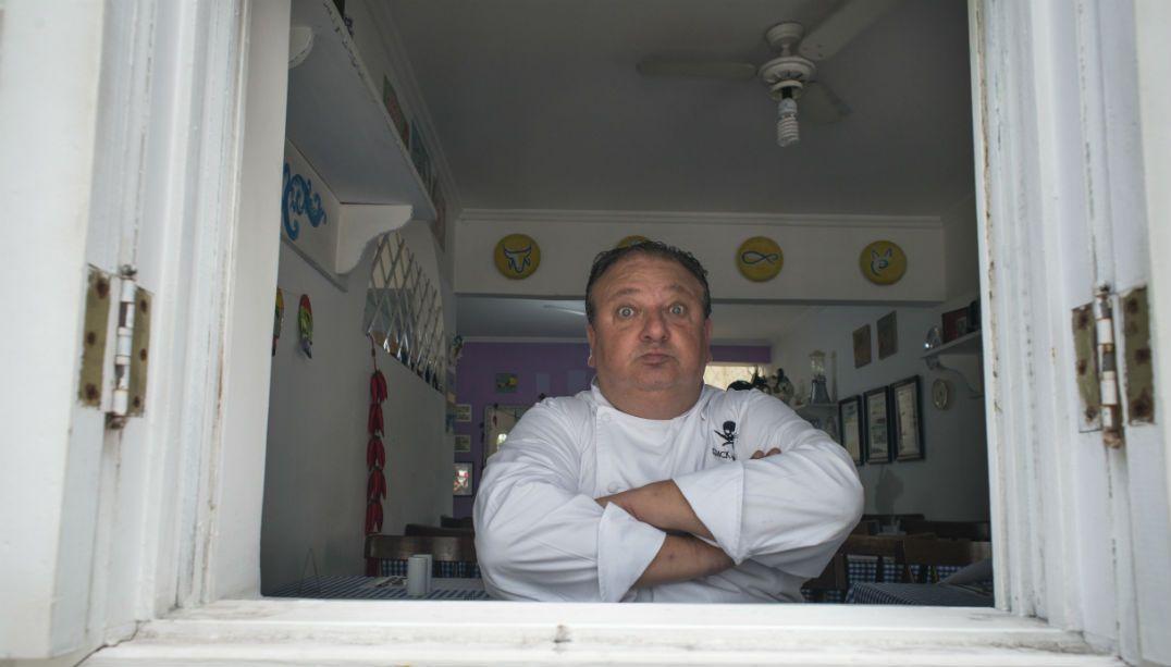 Jacquin visita pela 1ª vez o local que abrigou seu restaurante
