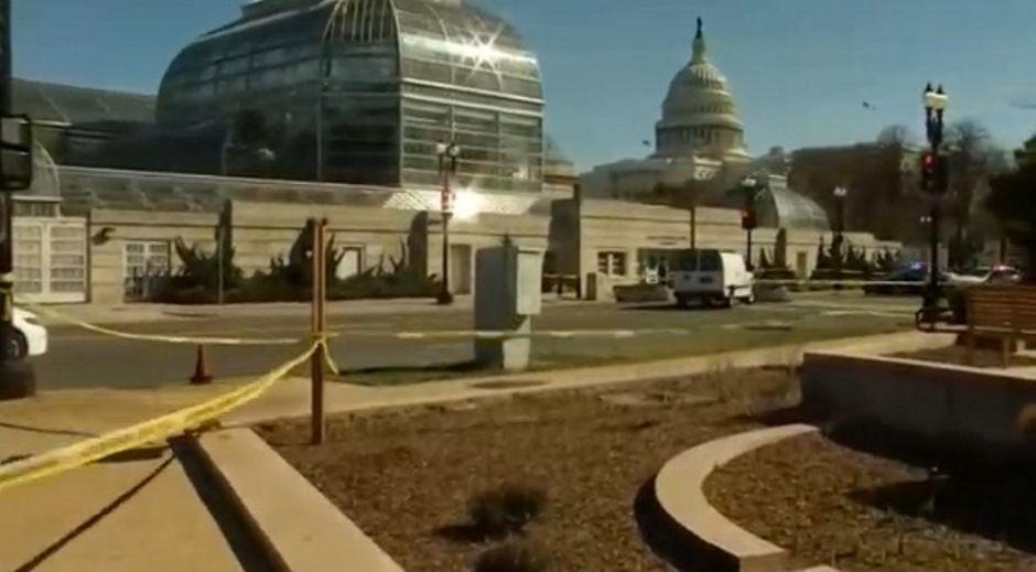 EUA: suspeito tenta furar bloqueio na área do Capitólio