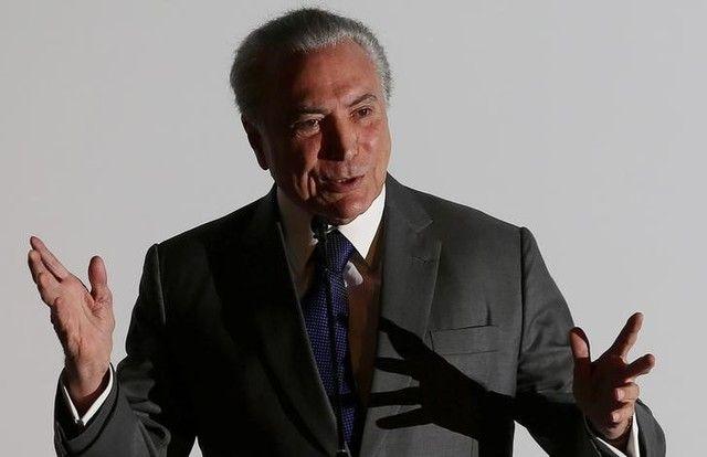 Temer conversou com Datena nesta manhã / Adriano Machado/Reuters