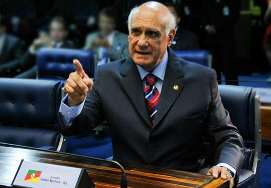 Senador Lasier Martins é acusado pela mulher de agressão