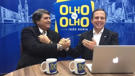 'Cabe uma reflexão', diz Doria sobre presidência