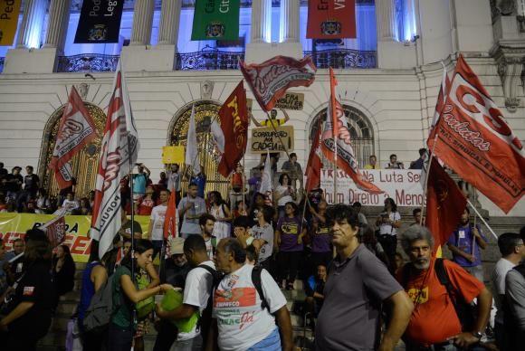 Sindicatos e movimentos protestam contra Reforma da Previdência