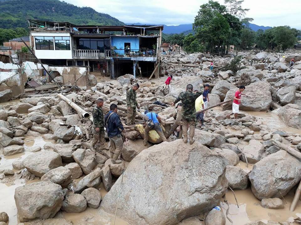 Avalanche na Colômbia deixa ao menos 154 mortos