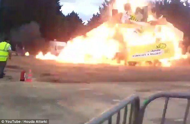 França: 30 pessoas ficam feridas após explosão