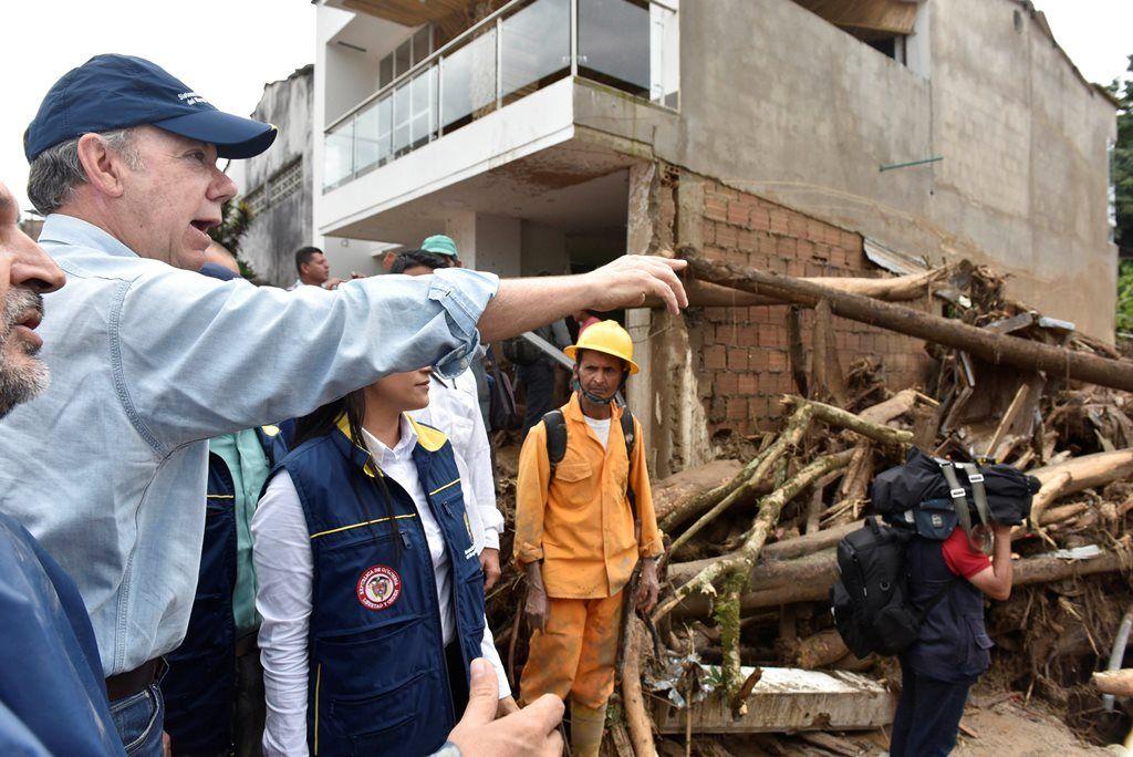 Colômbia: vai a 193 número de mortos após chuvas