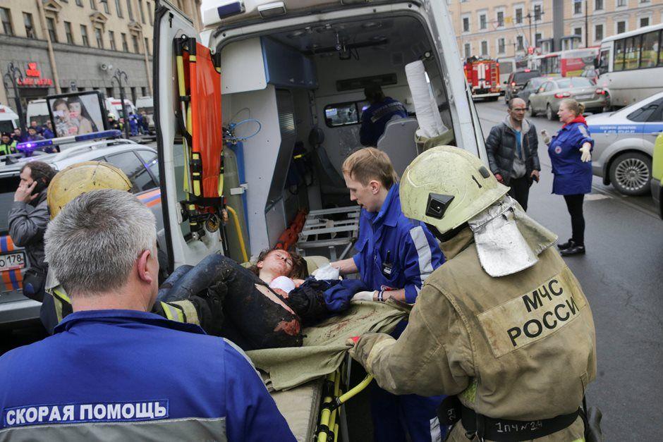 Explosão em metrô na Rússia deixa mortos