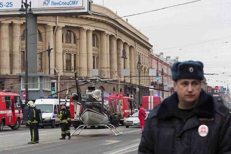 Explosivo é desativado dentro de metrô da Rússia
