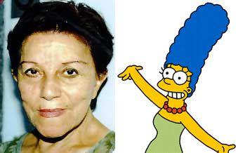 Selma Lopes é a dubladora de Marge na versão brasileira da série / Divulgação
