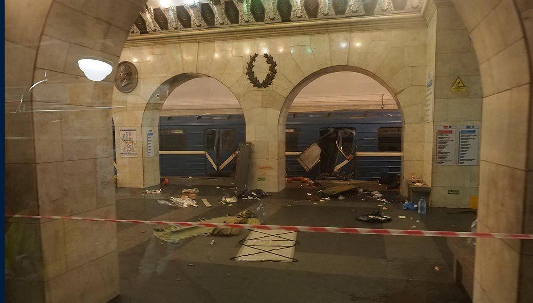 Rússia: homem-bomba teria causado explosão em metrô