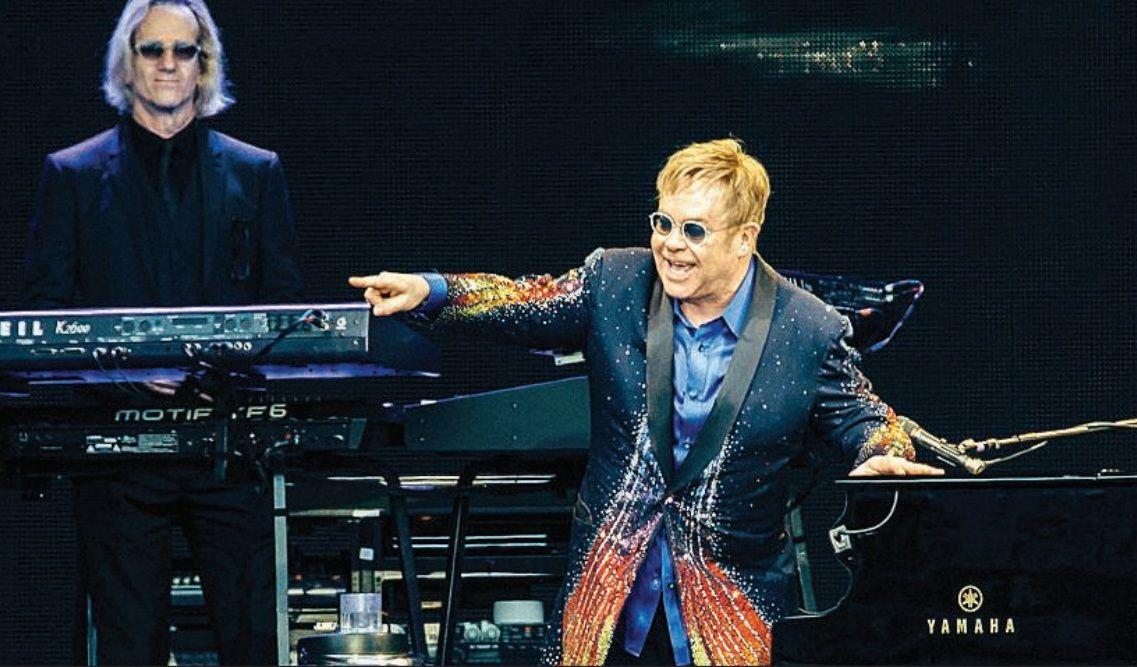 Elton John e James Taylor se apresentam hoje em Porto Alegre