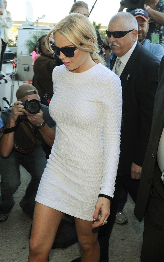 Vestido de Lindsay é sucesso de venda