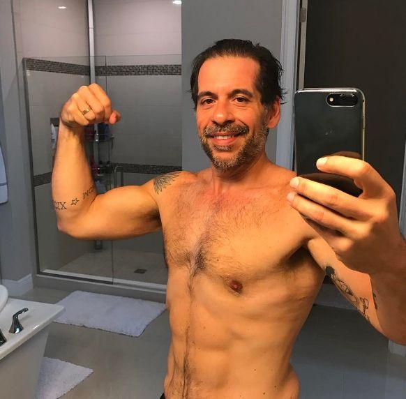Leandro Hassum: Nunca imaginei fazer foto no espelho