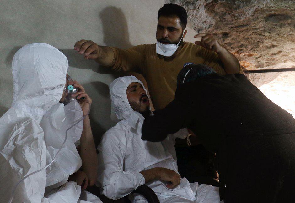 Papa: estamos 'horrorizados' com ataque de armas químicas na Síria
