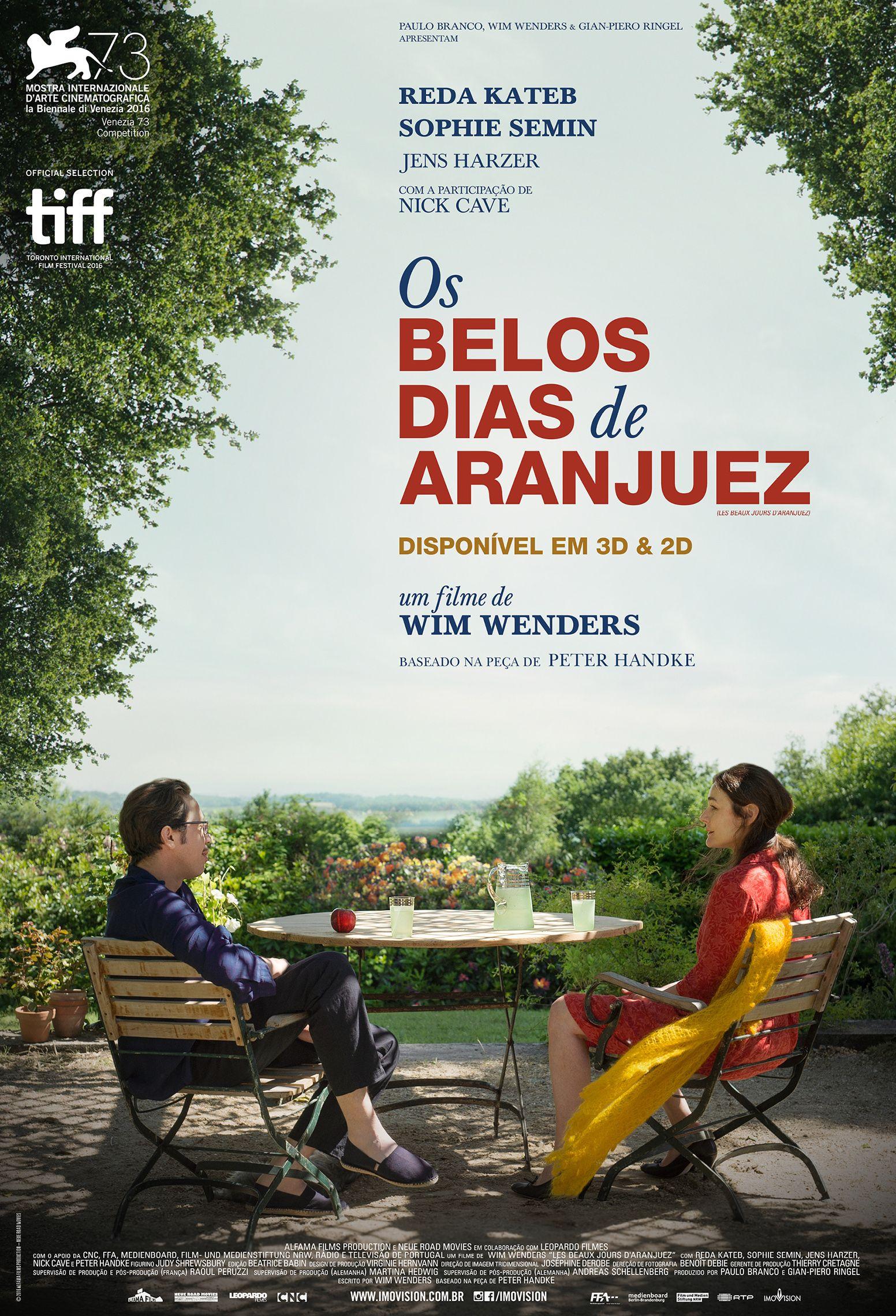 Dica de cinema: Os Belos Dias de Aranjuez