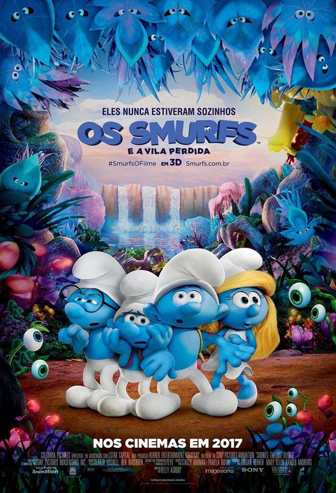 Dica de cinema: Os Smurfs e a Vila Perdida
