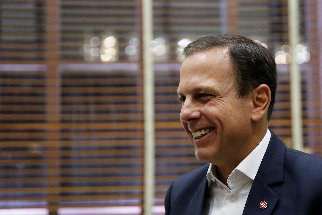 Doria admite disputar governo de SP em 2018