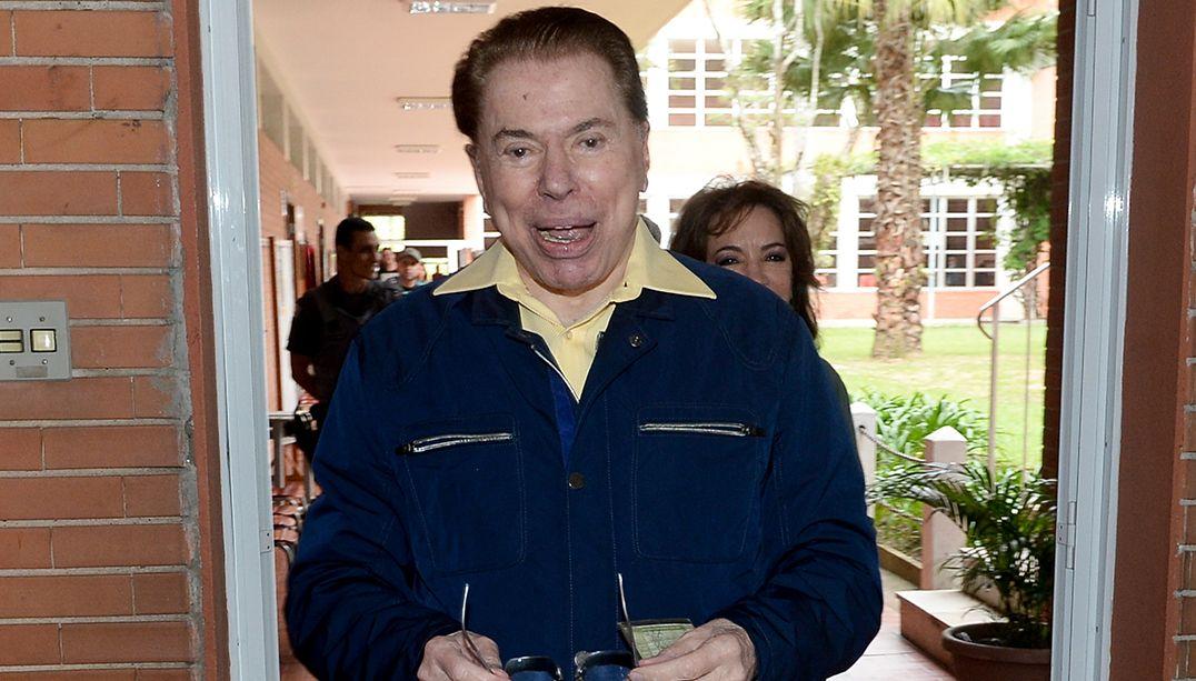 Silvio Santos quer passar bastão dos negócios / Francisco Cepeda/AgNews
