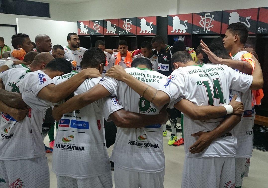 Fluminense de Feira está classificado para as semifinais do Campeonato  Baiano (Foto  Divulgação Facebook) d7156f5f0c38b