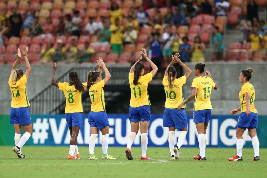334f7ba769 Brasil e Alemanha vão se enfrentar pelo futebol feminino - Band.com.br