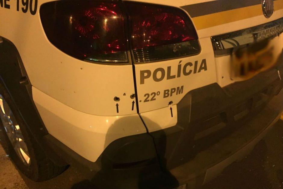 RS: Quadrilha metralha brigada e policiais pedem socorro