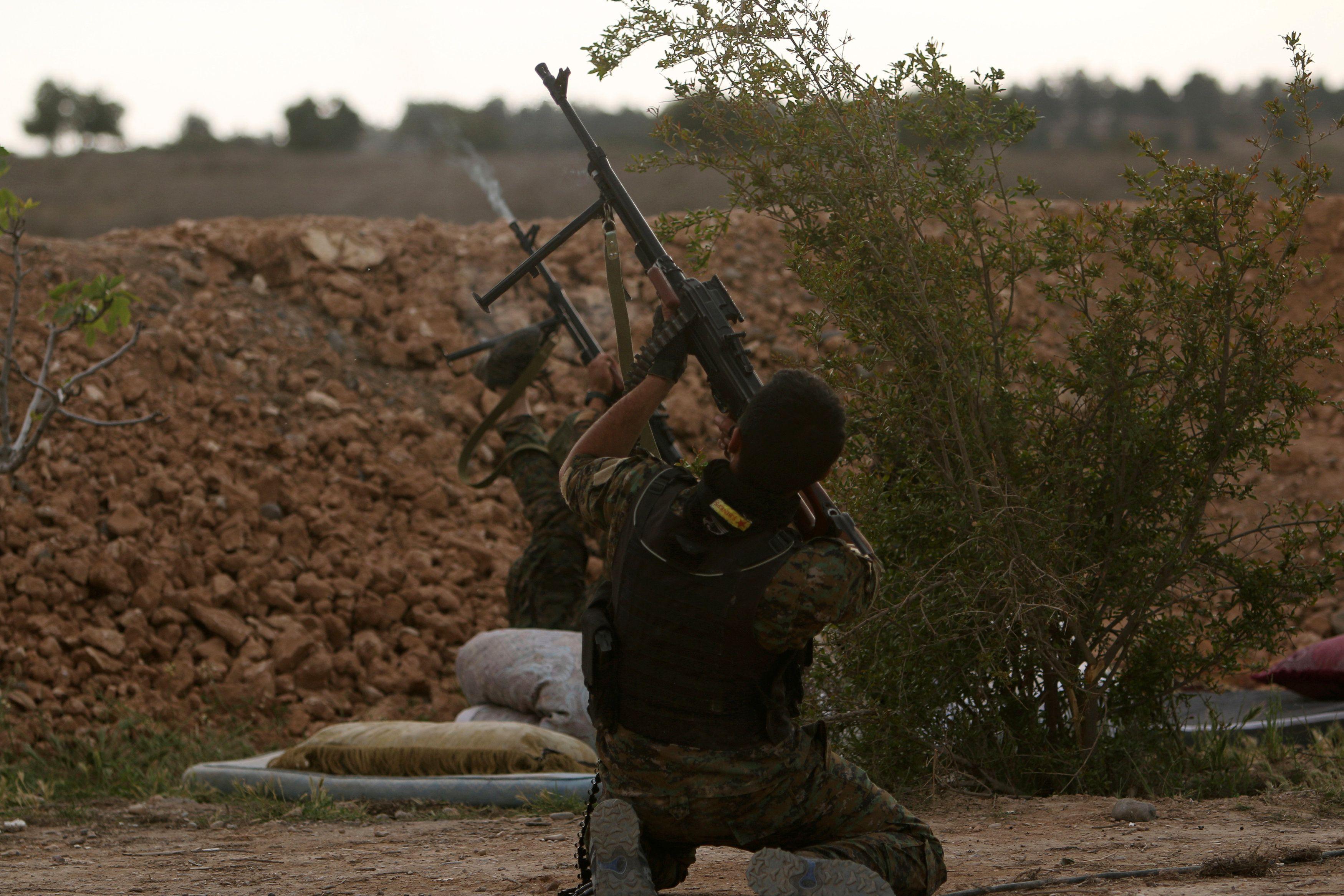 Estado Islâmico ataca base norte-americana na Síria