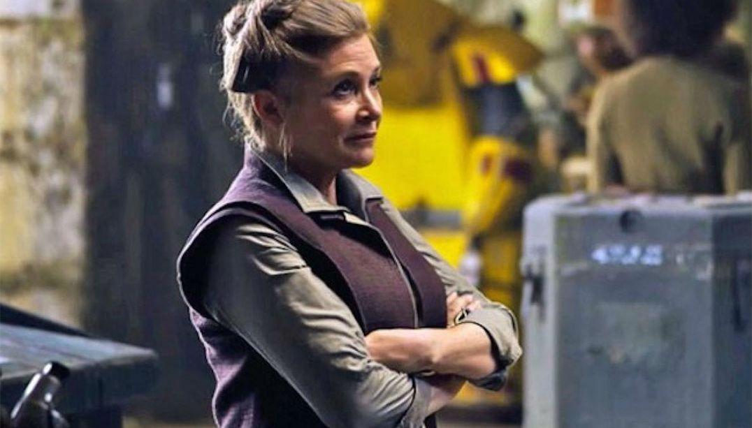 Carrie Fisher estará no Episódio IX de Star Wars