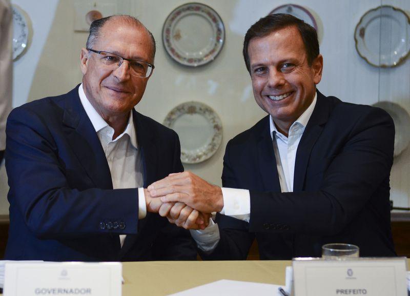 Em vídeo, Doria reafirma 'lealdade' a Geraldo Alckmin