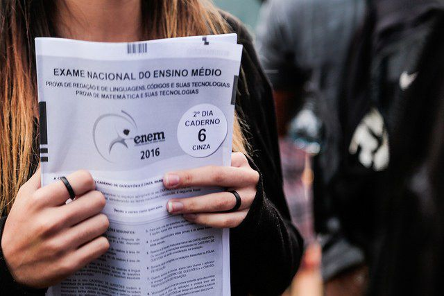 MEC libera notas do Enem aos candidatos