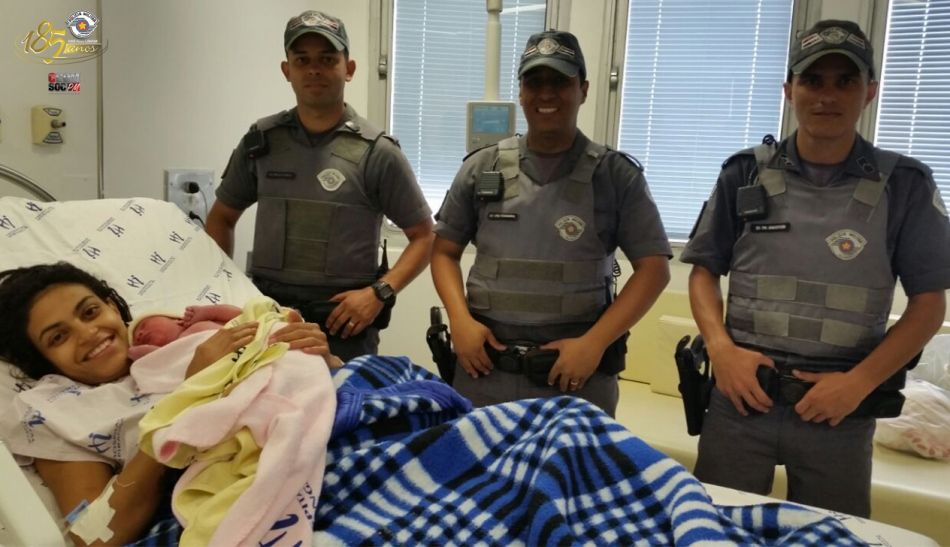 Policiais militares realizam parto em São Paulo